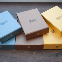 Gift Packaging, Gift Boxes, Gift Package for Luggage Tags, Bracelet Packaging, Wallet Boxes, Small Gift Boxes, Wedding Favour Boxes