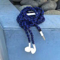 Rule Breaker MyBudsBuzz Wrapped Headphones Tangle Free Earbuds Your Choice of Headphones