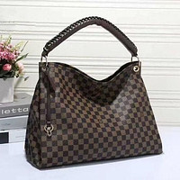 LV Louis Vuitton Classic Popular Women Shopping Bag Leather Handbag Satchel Shoulder Bag
