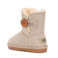 UGG Girls Boys Children Baby Toddler Kids Child Fashion Casual Boots Shoes-9