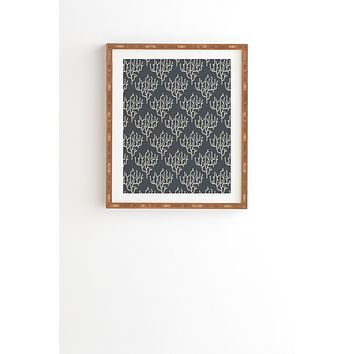 Holli Zollinger Grey Coral Framed Wall Art