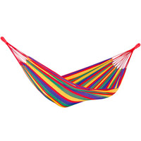 Evelots Portable Large Double 2 Person Outdoor Hammock - Bag included