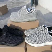 Yeezy 350 Boost High Quality Yezy Boost 350 Pirate Black Turtle Dove Gray Oxford Tan Moonrock Yeezy Kanye Outdoor Shoes