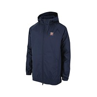 Adidas Men's Winterized Windbreaker Navy