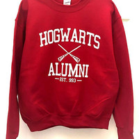 Harry Potter themed Hogwarts Alumni Sweater