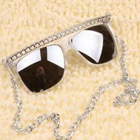 Sunglasses with Chain GNL35