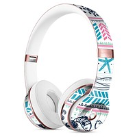Jumping Fish Repeating Pattern Full-Body Skin Kit for the Beats by Dre Solo 3 Wireless Headphones