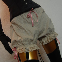 Steampunk Victorian Bloomers Vintage Lolita MOLL FLANDERS Victorian Decadence by Lovechild Boudoir