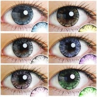 EOS Ice Color Contacts Combo Deal (3 Pairs)
