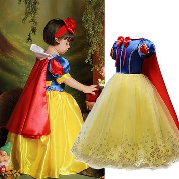 Children Girl Dress for Girls Prom Princess Dress Kids Baby Gifts Infant Party Clothes Fancy Teenager Clothing