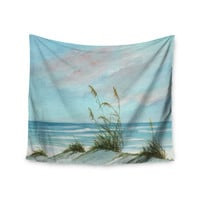 """Rosie Brown """"Sea Oats"""" Wall Tapestry"""