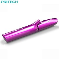Pritech Portable USB Rechargeable Curling Irons For Women Wireless Cordless 2 In 1 Hair Straightener