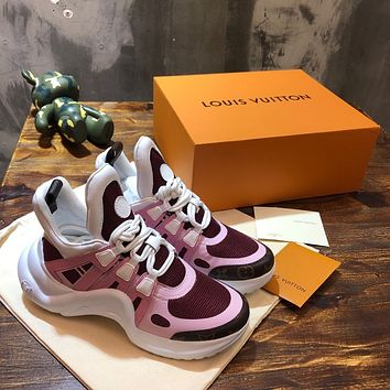lv louis vuitton womans mens 2020 new fashion casual shoes sneaker sport running shoes 7