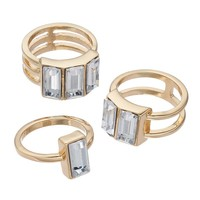 Jennifer Lopez Ring Set