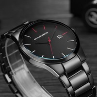 Men Watches 2018 Men's Quartz Wristwatches Male Clock Top Brand Luxury Relogio Masculino Military Steel Wrist Watches For Sports