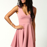 Blake Fit And Flare Dress