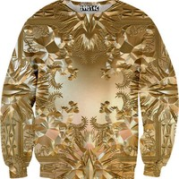 Watch The Throne Gold Sweater