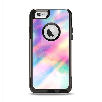 The Tie Dyed Bright Texture Apple iPhone 6 Otterbox Commuter Case Skin Set