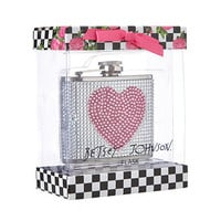 Betsey Johnson Pink Heart Flask Pink/Crystal - Zappos.com Free Shipping BOTH Ways