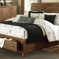 Sanctuary Queen Size Tufted Bed