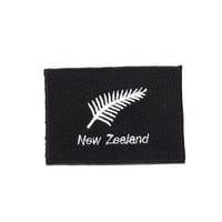 New Zealand Embroidered Applique Iron on Patch