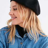 Knit Beret | Urban Outfitters