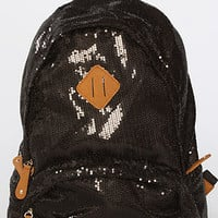 The Iridescent Backpack in Black