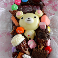 CUSTOM deco decoden kawaii sweets make your own case iphone 4 5, HTC, Samsung galaxy s2 s3, android, motorola, blackberry, etc