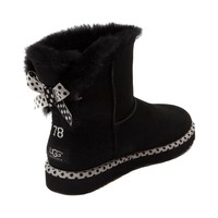 Womens UGG® Bailey Bow Mini Boot, Black, at Journeys Shoes
