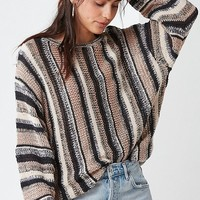 UO Striped Yarn Sweater | Urban Outfitters