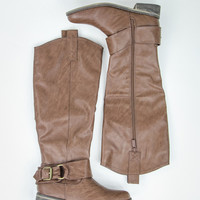Brilliant Boots in Caramel