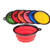 FREE New Collapsible fold-able Silicone Dog Bowl