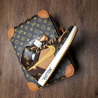 Louis Vuitton X Air Jordan 1 Pinnacle Aq0818-158