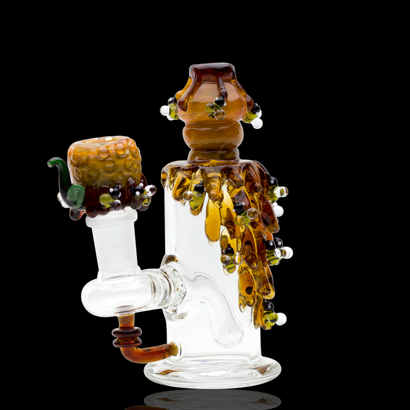 Image of Empire Glassworks Mini Dab Rig - Beehive