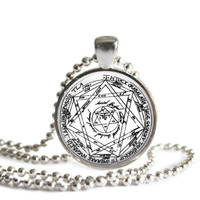 Supernatural Devil's Trap Necklace