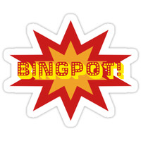 'BINGPOT!' Sticker by pixiemaw
