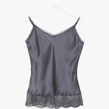Silky Lace Tank