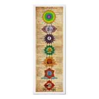 Elements of Chakras Poster from Zazzle.com