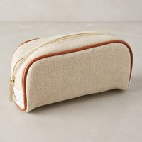 Fanned Lace Cosmetic Bag by Deux Lux Neutral One Size Jewelry