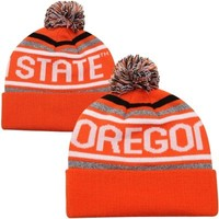 Top of the World Oregon State Beavers Striker Knit Hat - Orange