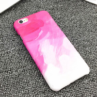 Artistic Color Drawing Case For iPhone 6 Case For Apple iphone 6S Plus 6Plus 5 5S Cute Sweet Candy Color