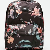 Vans Old Skool II Floral School Backpack - Mens Backpacks - Black - NOSZ