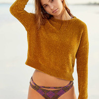 Out From Under Printed Cutout Hipster Bikini Bottom - Urban Outfitters