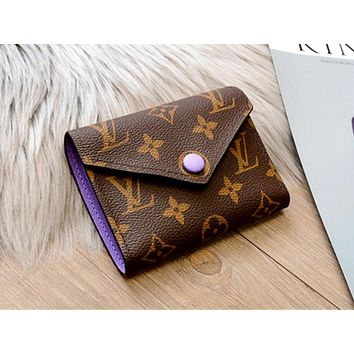 LV Tide brand multi-function wallet keychain