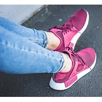 adidas nmd originals running sport casual shoes sneakers