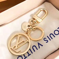 LV Louis Vuitton Popular Women Men Stylish Car Key Ring Key Chain