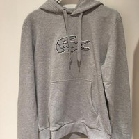 lacoste fashion hooded top pullover sweater sweatshirt hoodie
