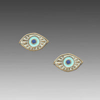 Dream Collective Evil Eye Stud Earrings in Turquoise from REVOLVEclothing.com