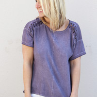 Stitched To Perfection {Eggplant}