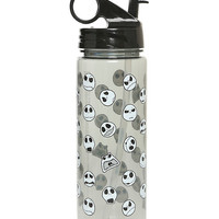 The Nightmare Before Christmas Jack Heads Water Bottle
